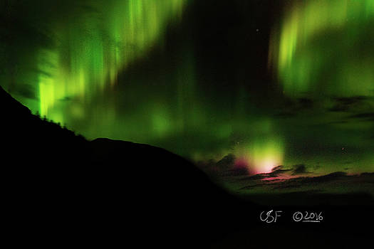 The Bifrost Bridge over Alaska by Chris Fieldhouse
