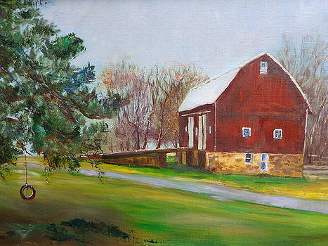 The Big Barn by Maureen Obey