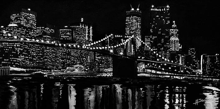 The Big City Lights by Heather Sweatte