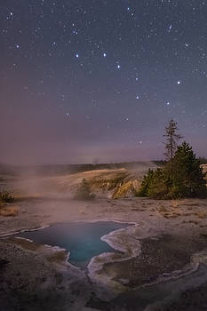 The Big Dipper in Yellowstone National Park by Alex Conu