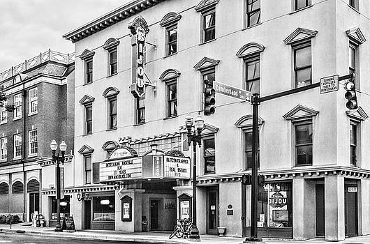 Sharon Popek - The Bijou Theatre Marquee Black and White