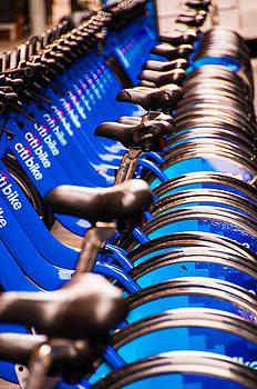 The Bike Rack by Larry Goss