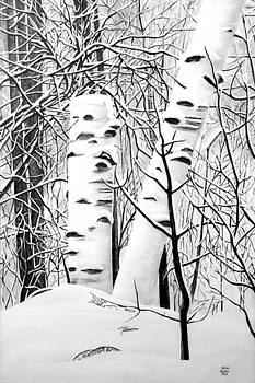 The Birches by Ellen Nelson