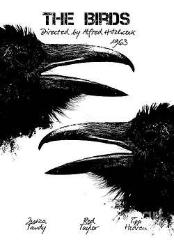 Justyna Jaszke JBJart - The Birds by Alfred Hitchcock
