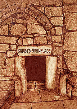 The Birthplace of Christ Church of the Nativity by Georgeta Blanaru