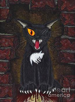 The Black Cat Edgar Allan Poe by Carrie Hawks