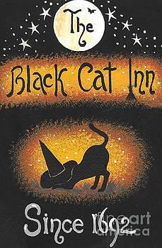 The Black Cat Inn by Margaryta Yermolayeva