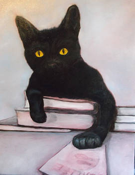 The Black Cat by Sherry Bunker