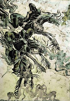 The Black Riders Descend by Carol  Law Conklin
