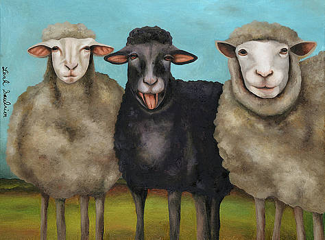 Leah Saulnier The Painting Maniac - The Black Sheep