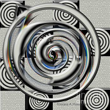 The Black Yin Yang by Rizwana Mundewadi
