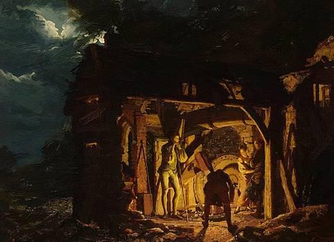 Wright Joseph - The Blacksmith Shop 18Th Century