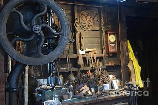 The Blacksmith Workshop by Leslie M Browning