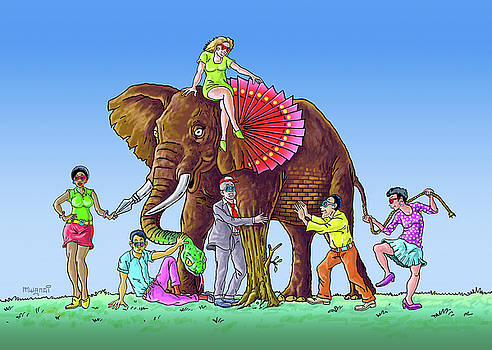 The Blind and the Elephant by Anthony Mwangi