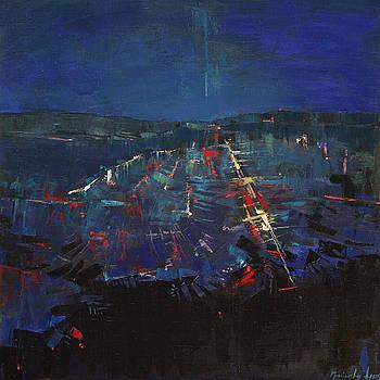 The Blue by Anastasija Kraineva