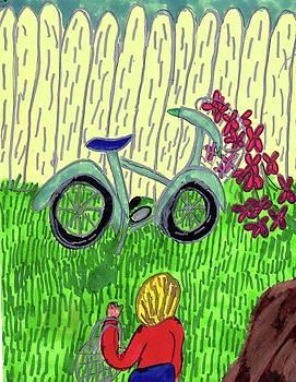 The Blue Bike by Elinor Helen Rakowski