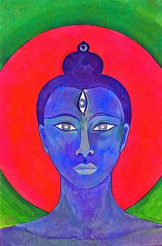 The Blue Buddha by Jennifer Baird