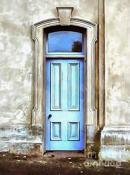 The Blue Door by Edward Fielding