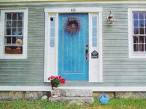 The Blue Door by Lisa Gilliam