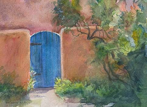 The Blue Door by Victoria Lisi