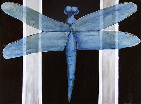 The Blue Dragonfly by Ellen Beauregard