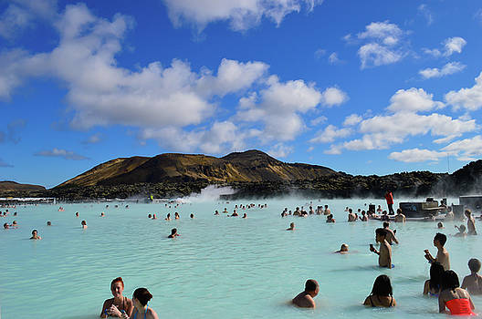 The Blue Lagoon, Iceland by Maalikah Hartley