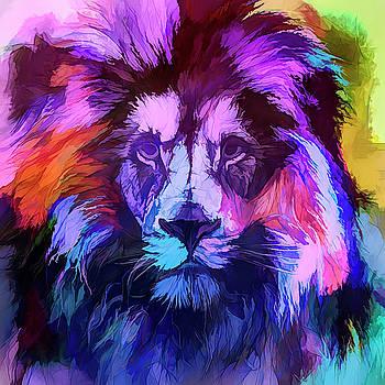 The Blue Lion  by Daniel Arrhakis