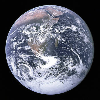 Apollo 17 Crew Member - The Blue Marble