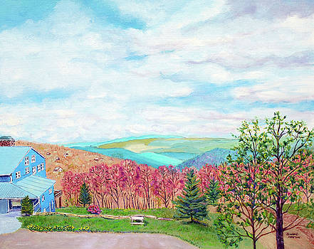 The Blue Mountains of North Carolina by Jeannie Allerton