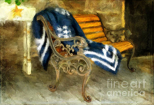 Lois Bryan - The Blue Quilt On The Bench