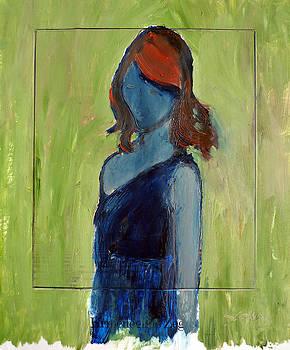 The Blue Redhead by Joe Scoppa
