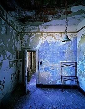 The Blue Room - Ellis Island by Stephen Wilkes