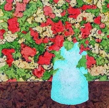 The Blue Vase by Isaac Alcantar