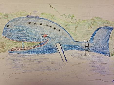 The Blue Whale of Catoosa by Emily Spivy