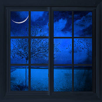 The Blue Window by Philippe Sainte-Laudy