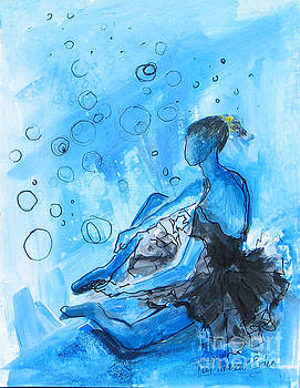 The blues #2 by Patricia Riascos