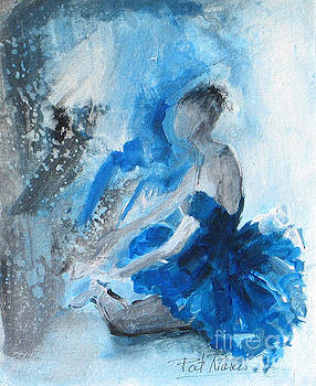The Blues #1 by Patricia Riascos