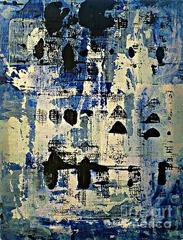 The Blues Abstract by 'REA' Gallery
