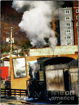 The Blues Train  by Steven Digman