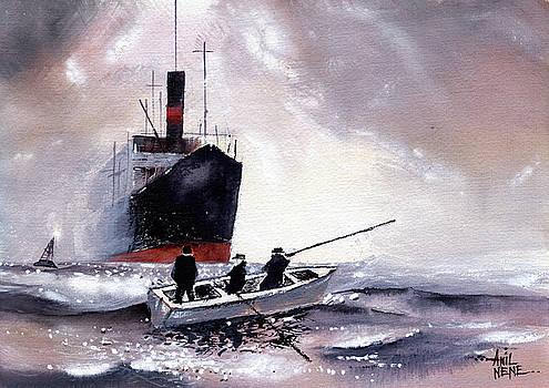 The Boat by Anil Nene