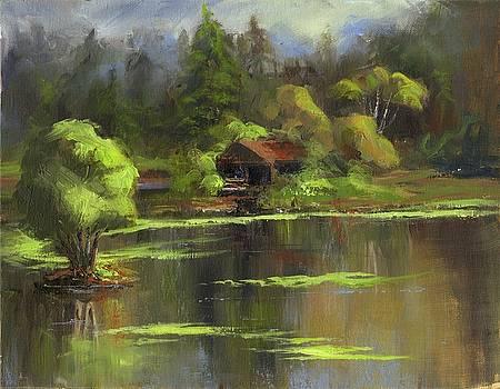 The Boat House by Sharon Abbott-Furze