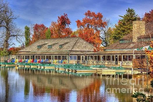 The Boathouse by Denny Ragan