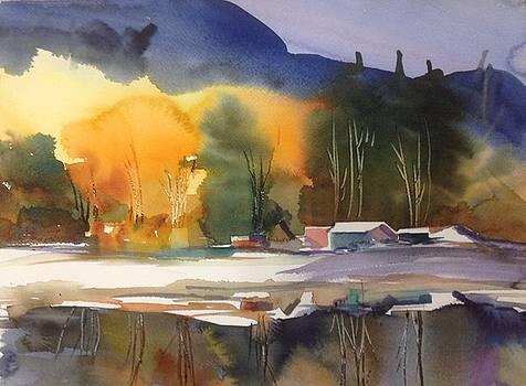 The Boathouses by Sarah Guy-Levar