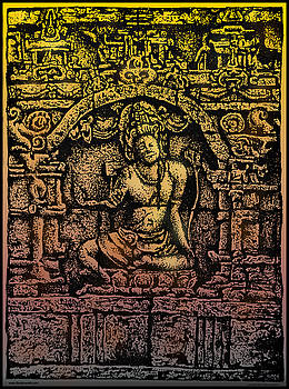 Larry Butterworth - The Bodhisattva Samantabhadra Borobudur Java