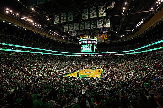 The Boston Celtics by Juergen Roth