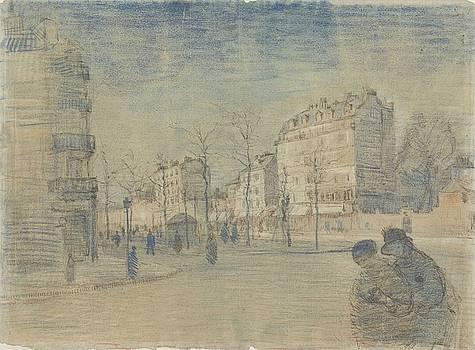 The Boulevard de Clichy Paris, February 1887 Vincent van Gogh 1853  1890 by Artistic Panda