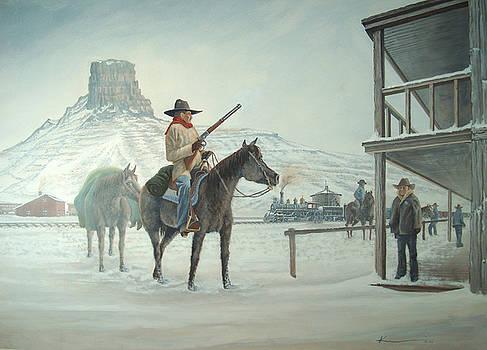 The Bounty Hunter by  Keith Kochenour