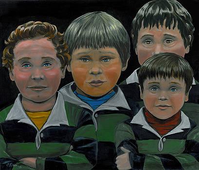 The Boys Down The Street by Gail Finn