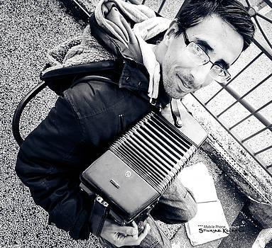 The Brave Accordion Player by Stwayne Keubrick