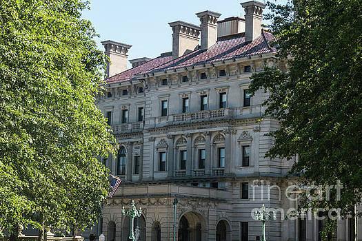 The Breakers Vanderbilt Mansion Newport Rhode Island by Wayne Moran
